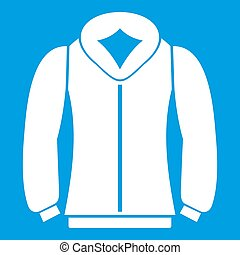 Sweatshirt icon white