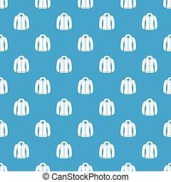 Sweatshirt pattern seamless blue