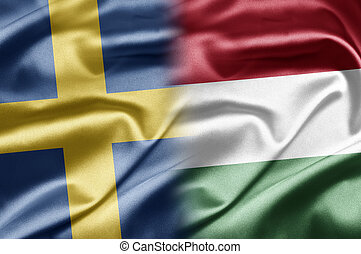 Sweden and Hungary