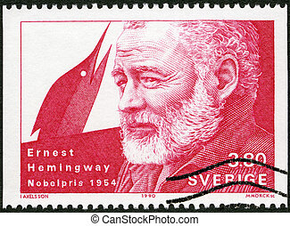 SWEDEN - CIRCA 1990: A stamp printed in the Sweden shows...