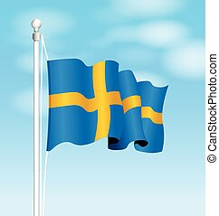 sweden national flag