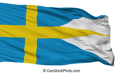 Sweden Naval Ensign Flag Isolated Seamless Loop - Naval ...