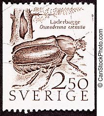 Sweden Swedish Postage Stamp Hermit Beetle Osmoderma Eremita L