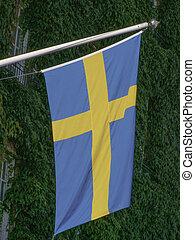 Swedish Flag of Sweden
