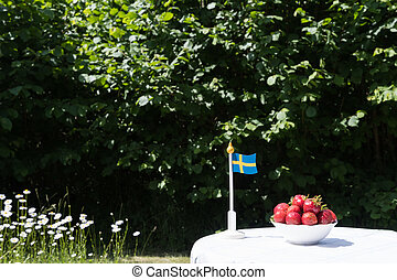 Swedish fresh strawberries