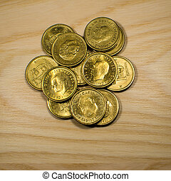 Swedish golden coins