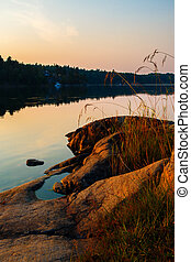 Swedish summer evening