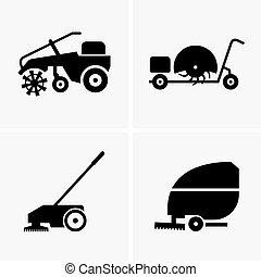 Sweeper machines