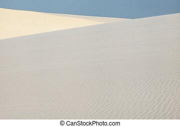 Sweeping dunes in Lencois Maranhenses. Brasil