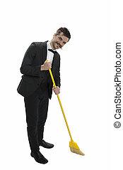 Sweeping Gentleman