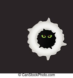 sweet and funny creature vector illustration