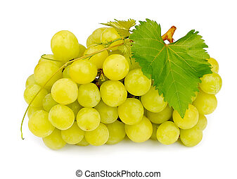 Sweet and ripe grapes