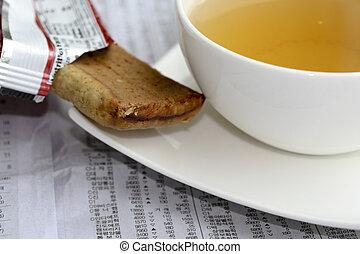 sweet and tea - Zeitung