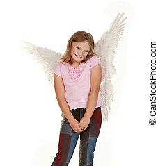 sweet angel fairy girl