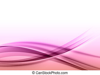sweet background - abstract background with purple curves