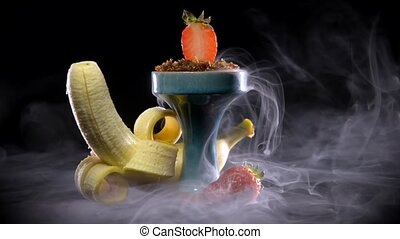 Sweet banana and strawberry smoke - Strawberry hookah ...