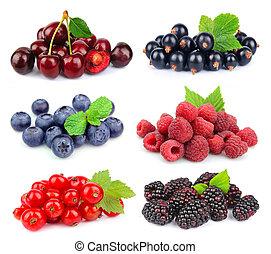 Sweet berries: blackberry, blueberr y,red currant, raspberry, black currant, cherry