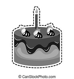 sweet birthday cake card