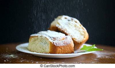 sweet buns with poppy seeds