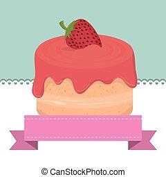 sweet cake dessert