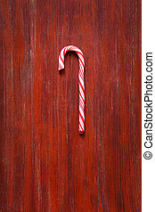 Sweet candy cane.