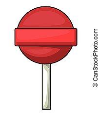 Sweet cartoon candy design