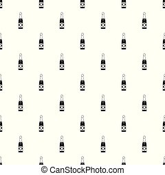 Sweet champagne pattern seamless vector