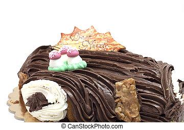 sweet chocolate Christmas shaped socket festive tradition of...