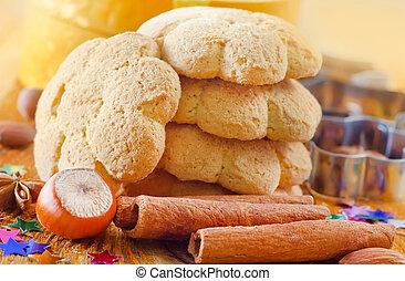Sweet cookies for Christmas