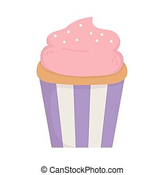 sweet cupcake dessert tasty icon