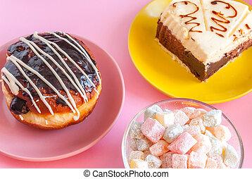 Sweet dessert for tea