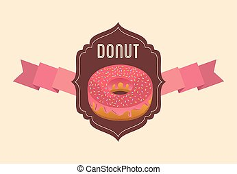 sweet donuts design