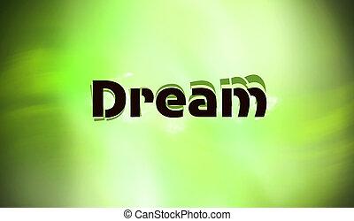 Sweet dream - Green,fresh,sweet dream!