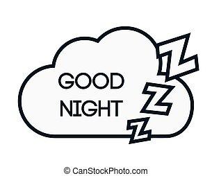 Sweet dreams design. - Sweet dreams design, vector ...