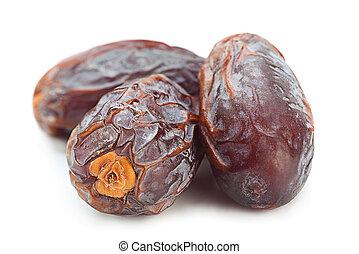 Sweet dried date fruit