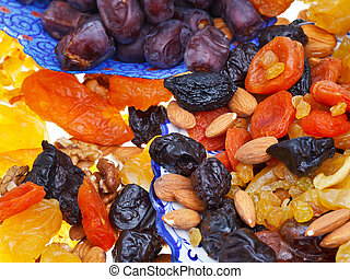 sweet dried fruits