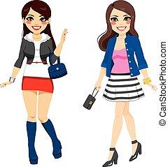 Sweet Fashionable Girls