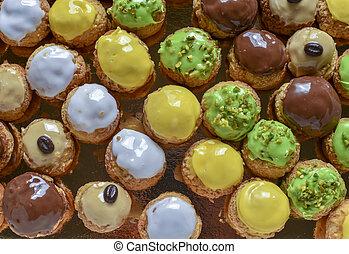 sweet food - little sweet cakes