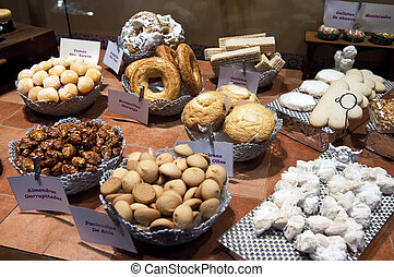 Sample different typical Sweets