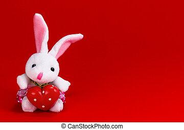 Sweet heart rabbit
