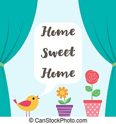 Sweet Home background