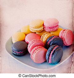 Sweet Macarons Background
