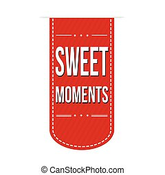 Sweet moments banner design