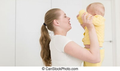 Sweet mother love for baby