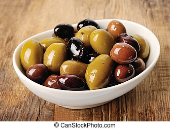 Sweet olives. Mix