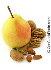 Sweet pear and nuts
