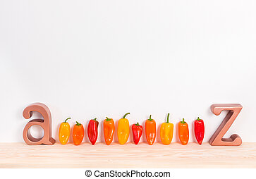 Sweet peppers A to Z