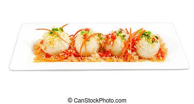 Sweet rice Dumpling