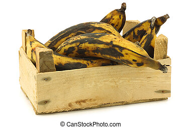 sweet ripe baking bananas