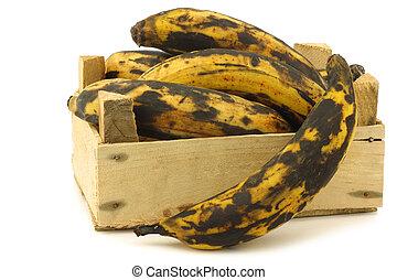 sweet ripe baking bananas
